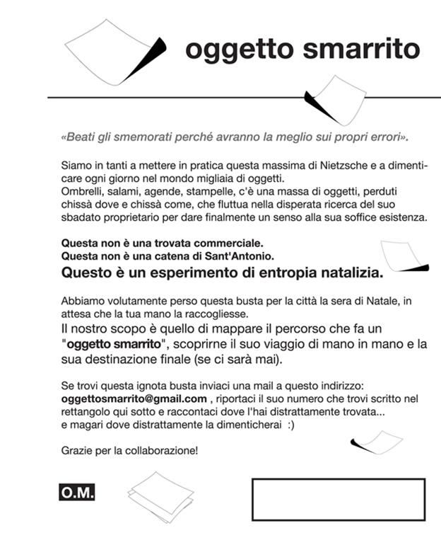 Foto 3-Oggetto Smarrito